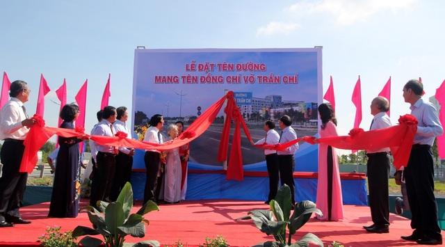 Đường dẫn cao tốc TPHCM - Trung Lương được mang tên ông Võ Trần Chí