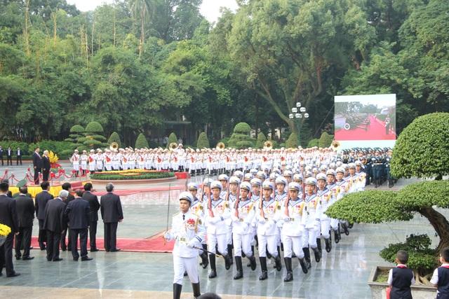 Bắn 21 loạt đại bác chào mừng Chủ tịch Trung Quốc tới Việt Nam - 3