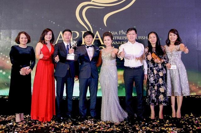 Giải thưởng Doanh nhân Châu Á Thái Bình Dương (APEA) năm 2017 là phần thưởng xứng đáng cho nỗ lực của Egroup trong thời gian qua