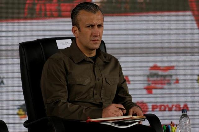 Phó Tổng thống Venezuela El Aissami (Ảnh: Reuters)