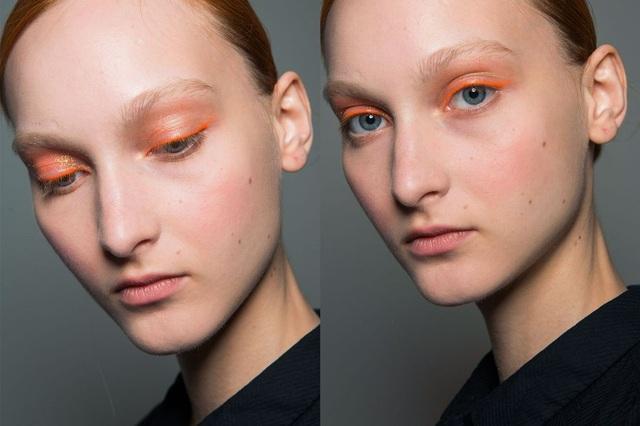 Một gợi ý thú vị cho các bạn gái trẻ: Viền mắt màu cam
