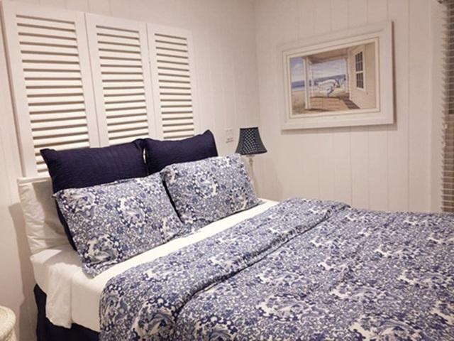 Căn phòng ngủ ấm áp.