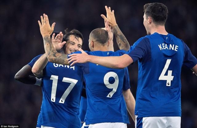 Everton giành chiến thắng trước Ružomberok