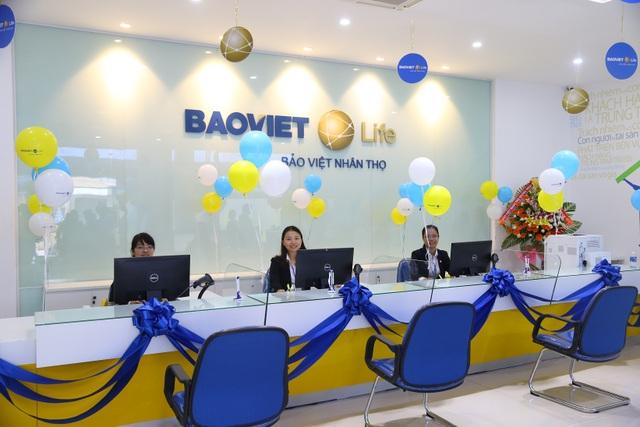 Văn phòng giao dịch hiện đại của công ty Bảo Việt Nhân thọ Bắc Bình Định.