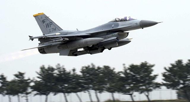 Máy bay chiến đấu F-16 (Ảnh: Sputnik)