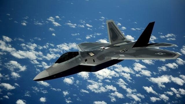 Máy bay F-22 Raptor của Mỹ. (Ảnh: Không quân Mỹ)