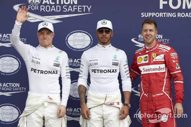 Lewis Hamilton có pole đầu tiên trong mùa giải F1 2017 - 4