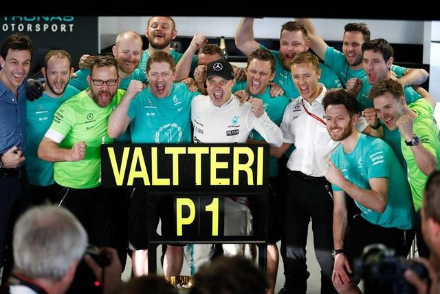 Chặng 4: Valtteri Bottas lần đầu đăng quang tại F1 - 1
