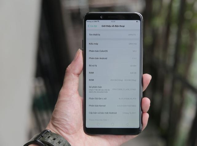 Đánh giá Oppo F5: Đem xu hướng công nghệ mới màn hình tràn và selfie A.I vào sản phẩm - 8