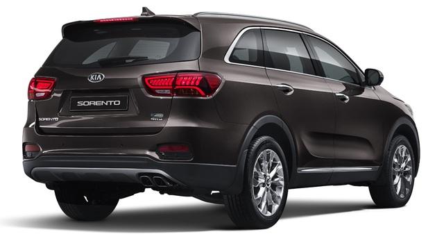 Kia giới thiệu Sorento phiên bản nâng cấp 2018 - 4