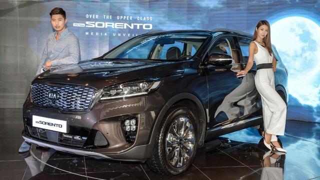 Kia giới thiệu Sorento phiên bản nâng cấp 2018 - 1