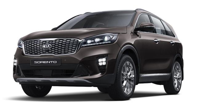 Kia giới thiệu Sorento phiên bản nâng cấp 2018 - 3