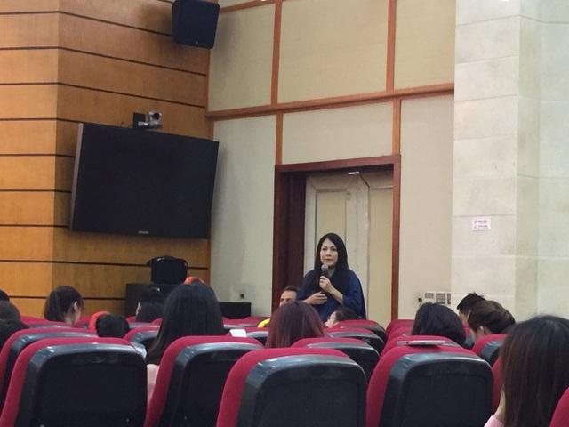 NTK Minh Hạnh chia sẻ về Lễ hội áo dài trong khuôn khổ Festival.