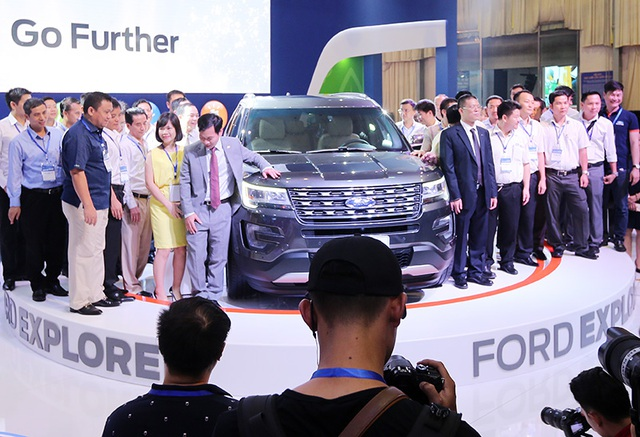 Explorer hiện đang là mẫu xe được quan tâm nhất của Ford trong thời điểm này.