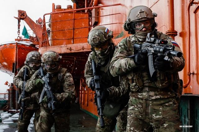 Quân nhân thuộc Cơ quan An ninh Liên bang Nga (FSB) (Ảnh: Pinterest)