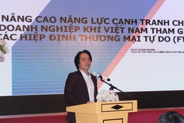 Ông Ngô Chung Khanh phát biểu tại hội thảo