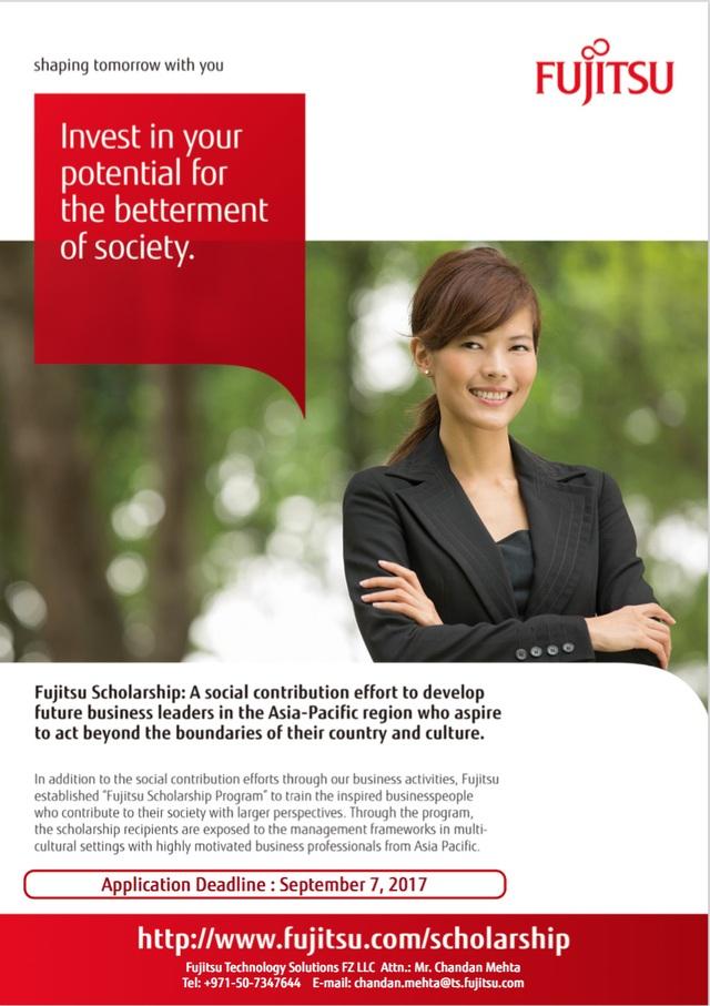 Học bổng Fujitsu dành cho ứng viên Việt Nam - 1