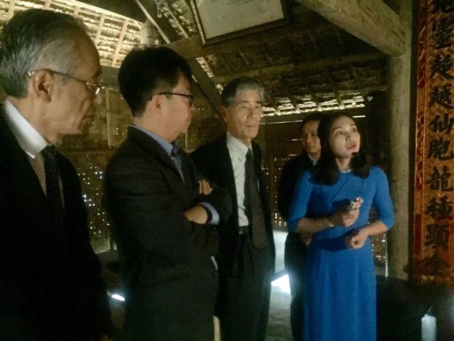 Đoàn Nhật Bản đến thăm Khu di tích đặc biệt của cụ Phan Bội Châu tại Nam Đàn.
