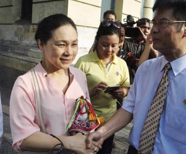 Bà Hồ Mai Phương cảm ơn những người đồng hành trên hành trình tìm công lý cho con gái.