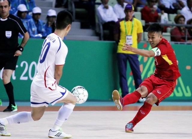 Futsal nam là một trong những môn của Việt Nam tham dự AIMAG 5