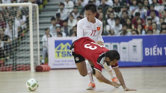 Đội tuyển futsal Việt Nam đặt mục tiêu vào chung kết giải Đông Nam Á tổ chức trên sân nhà (ảnh: Trọng Vũ)