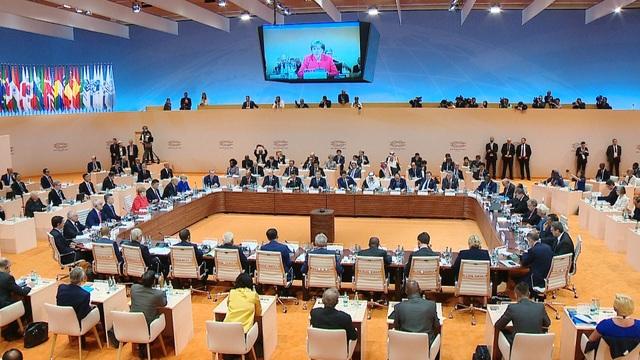 Các nước G20 thảo luận nhiều vấn đề quan trọng trong ngày họp đầu tiên (ảnh: VGP)