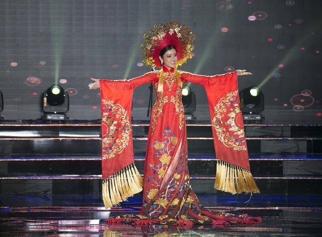 Á hậu Huyền My là đại diện của Việt Nam tham dự cuộc thi.