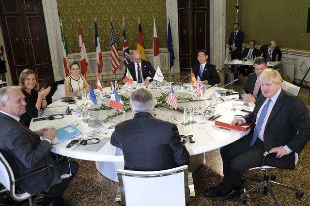 Các ngoại trưởng của các nước G7 nhóm họp tại thành phố Lucca, Italy hôm 11/4 (Ảnh: Washington Times)