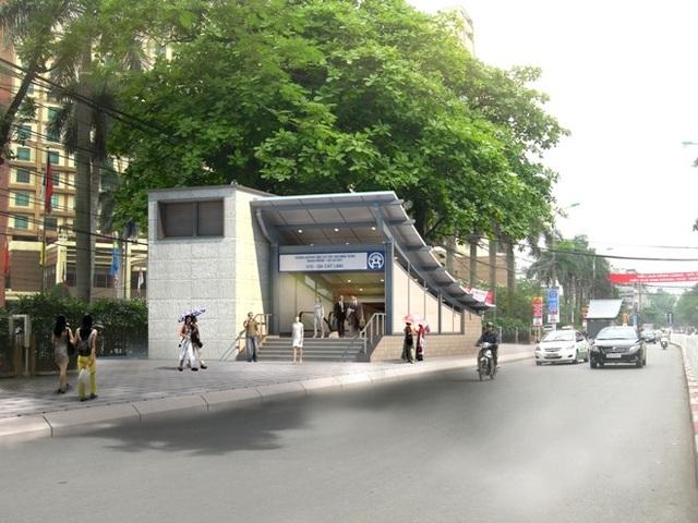 Với hệ thống giao thông đồng bộ và hiện đại, gần ga tàu điện ngầm Cát Linh, các dự án bất động sản khu vực Núi Trúc, Giảng Võ đang tạo sức hút lớn đối với khách hàng