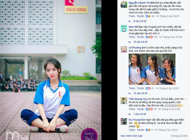 Cô bạn tên là Nguyễn Thị Linh - nữ sinh ngành Kỹ thuật sinh học, Viện Công nghệ sinh học & Công nghệ thực phẩm, ĐH Bách khoa Hà Nội.