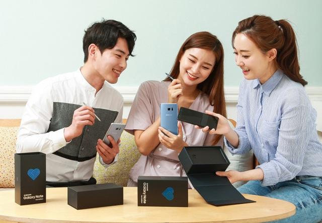 Galaxy Note7 tân trang với tên gọi Galaxy Note FE chính thức được bán ra tại Hàn Quốc.