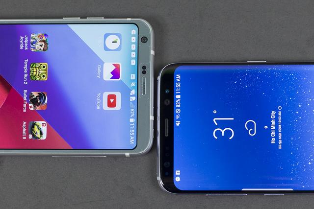 So sánh thiết kế của Galaxy S8 và LG G6 - 11