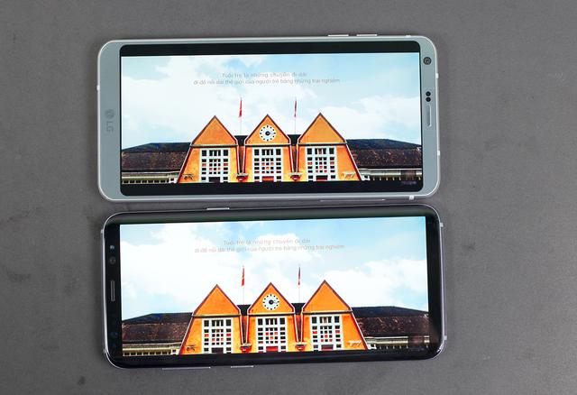 So sánh thiết kế của Galaxy S8 và LG G6 - 8