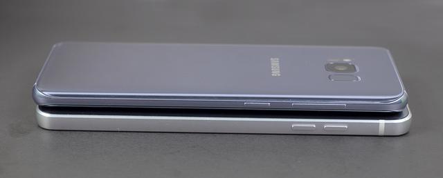 So sánh thiết kế của Galaxy S8 và LG G6 - 3