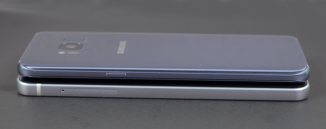 So sánh thiết kế của Galaxy S8 và LG G6 - 2