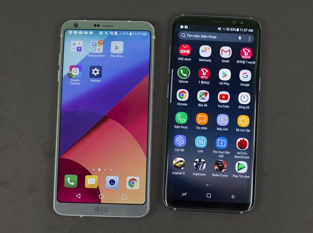 So sánh thiết kế của Galaxy S8 và LG G6 - 14