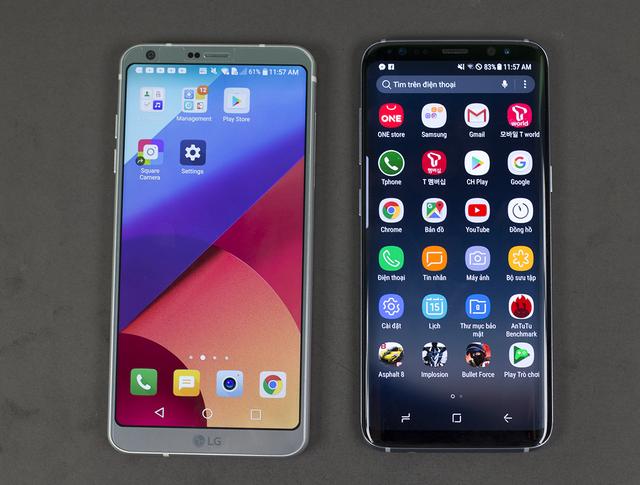 So sánh thiết kế của Galaxy S8 và LG G6 - 6