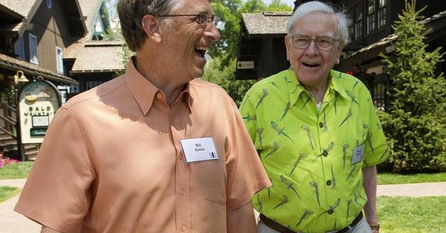 Tỷ phú Bill Gates và Warren Buffett. (Nguồn: David Paul Morris/Bloomberg | Getty Images)