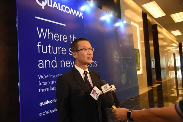 Ông Thiều Phương Nam, Tổng Giám đốc công ty Qualcomm khu vực Đông Dương.