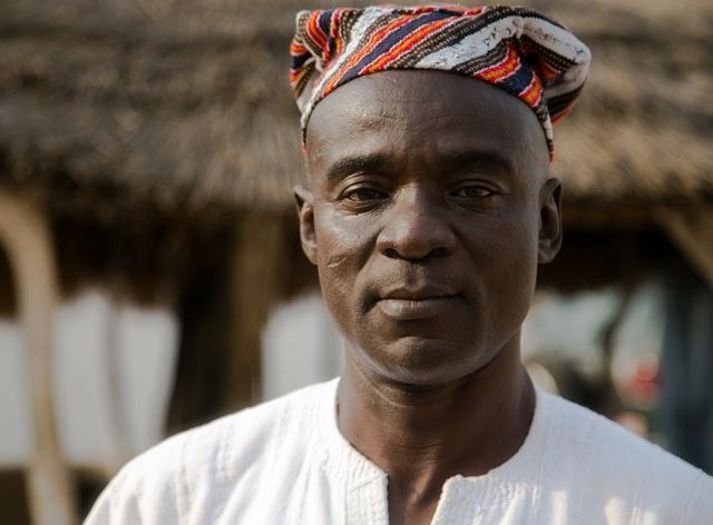 Ubor Dawuni Wumbe -trưởng làng Bunbong. (Nguồn: For The Times)