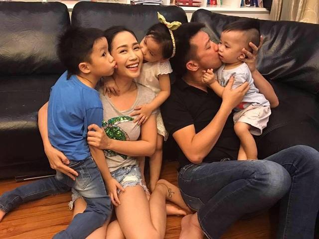 Ốc Thanh Vân nhắn gửi bố hãy an tâm, cô hứa sẽ sống thật tốt, chăm lo cho gia đình. (Trong ảnh là tổ ấm nhỏ của nữ MC).
