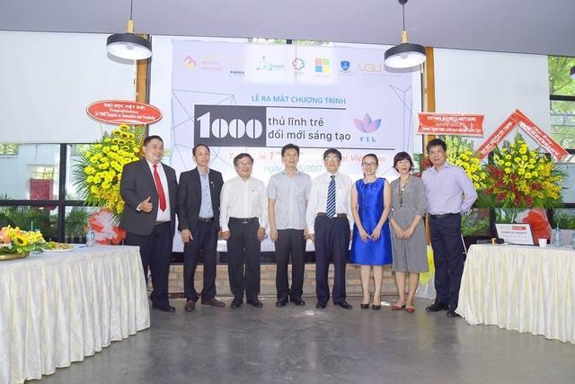 Các thầy cô sáng lập chương trình và lãnh đạo các trường ĐH Việt Đức, ĐH Nguyễn Tất Thành.