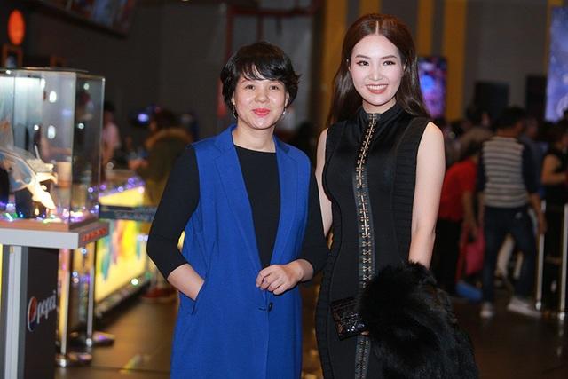 MC Diễm Quỳnh và Á hậu - MC Thụy Vân cũng có mặt.