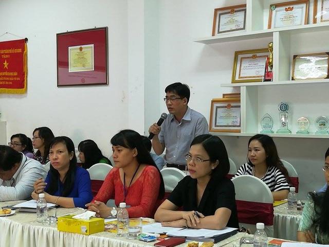 Đại diện BĐD CMHS Trường tiểu học Nguyễn Thái Học: Chúng tôi rất buồn khi dư luận nói rằng nên giải tán BĐD CMHS