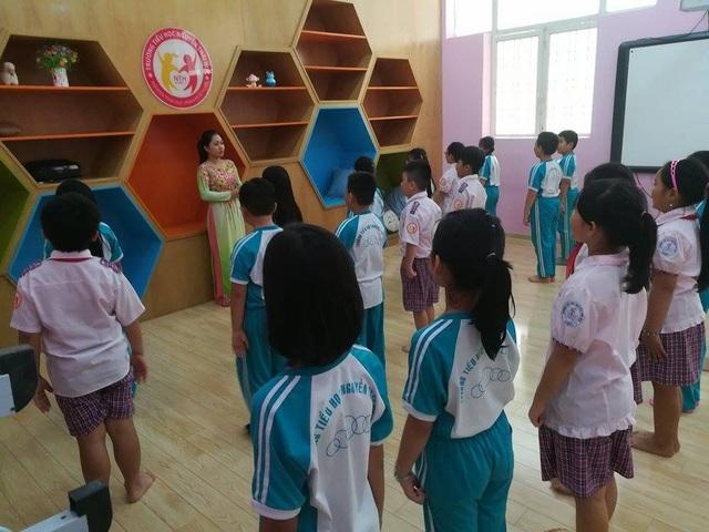 Trường tiểu học Nguyễn Thái Học đang thực hiện đề án Trường học tiên tiến