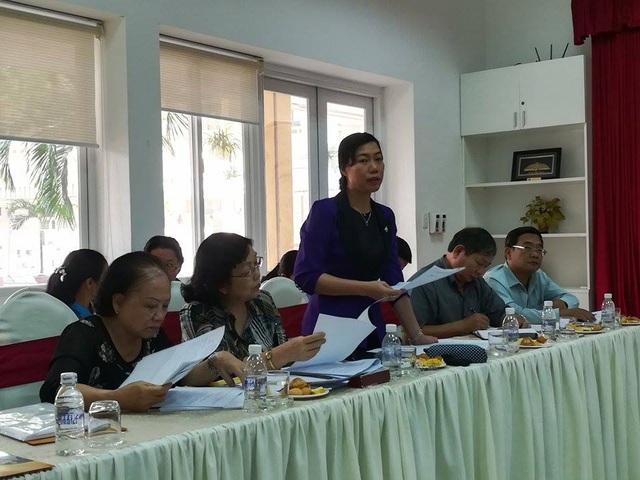 Bà Triệu Lệ Khánh, Phó Chủ tịch UB MTTQ Việt Nam TPHCM: Tiền quỹ BĐD CMHS ấn định thu 250.000 đồng sao gọi là tự nguyện?