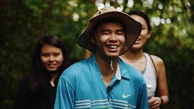 Lập trình viên khiếm thị Nguyễn Giang (Ảnh: CNA)