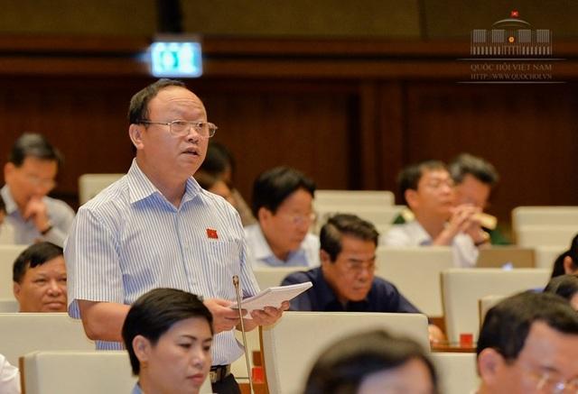 Đại biểu Giàng A Chu phát biểu tại buổi thảo luận (Ảnh: Quochoi.vn)