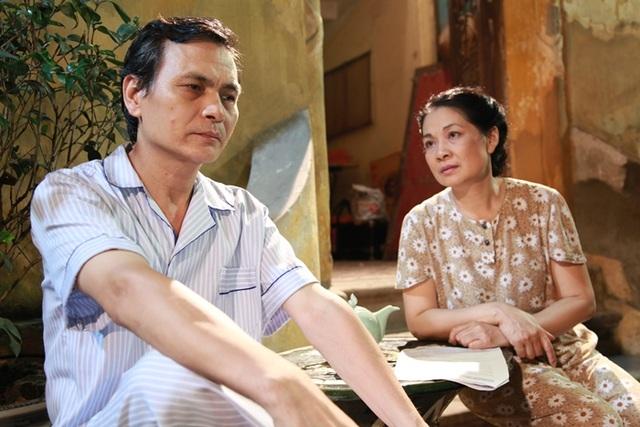 Một cảnh của nghệ sỹ Minh Phương và Thanh Chi trong phim.