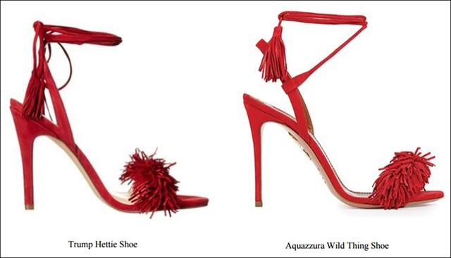 Mẫu giày Hettie (trái) và Wild Thing (Ảnh: RT)
